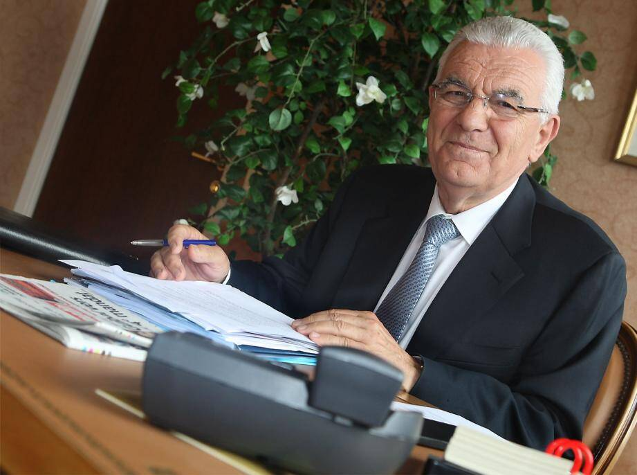 André Garino, président du conseil économique et social.
