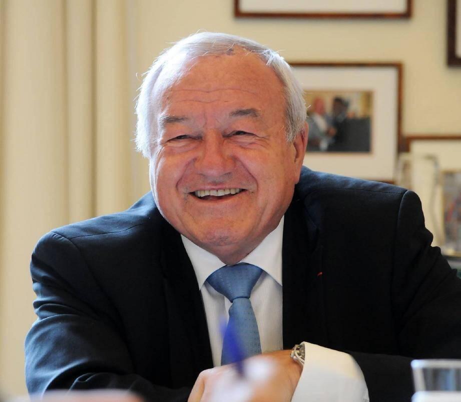 Bernard Brochand compte bien obtenir son troisième mandat de député, dans une circonscription élargie mais… dans l'opposition.