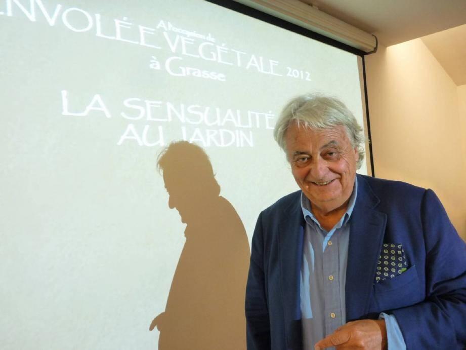 Jean Mus a animé une conférence dans le cadre des cafés-débats du concours L'Envolée végétale.
