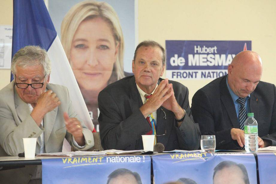 De Mesmay, « candidat authentiquement national ».