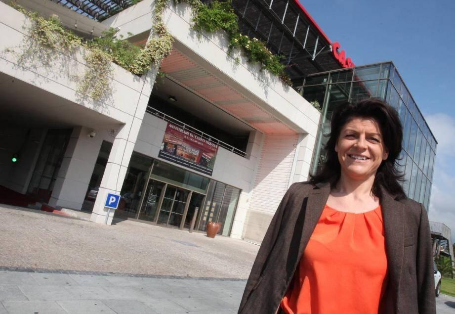 Fidèle cadre du groupe Tranchant depuis six ans, Cristelle Simon est à la tête du casino Terrazur depuis huit mois.