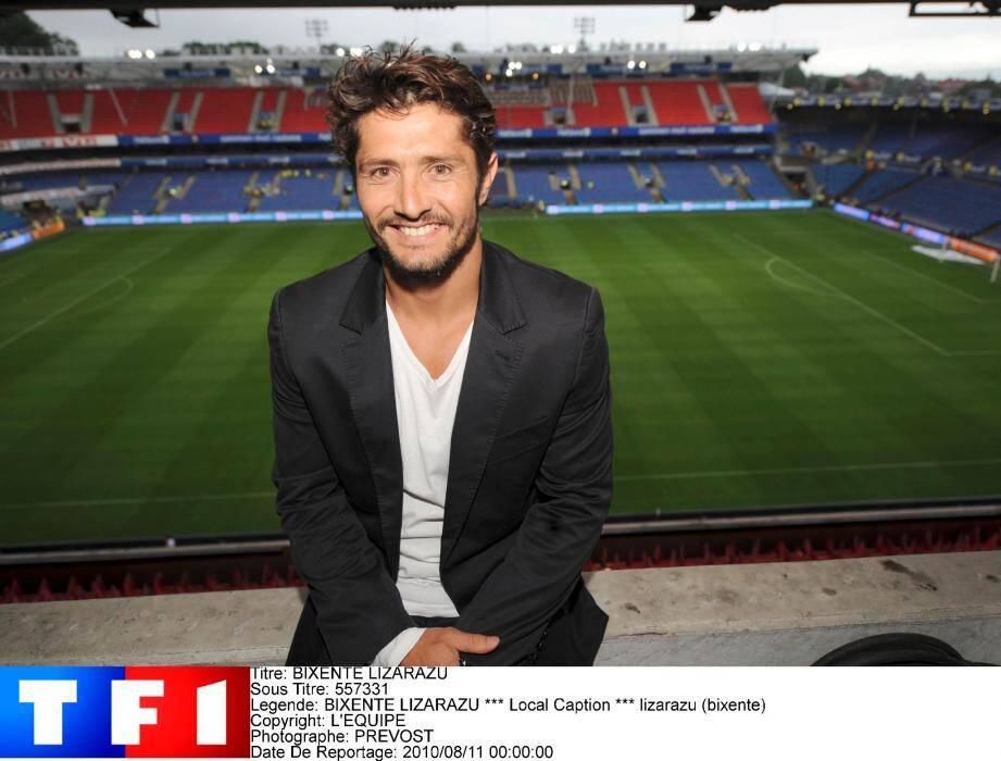 Bixente Lizarazu va commenter les matches sur TF1 avec Christian Jeanpierre.