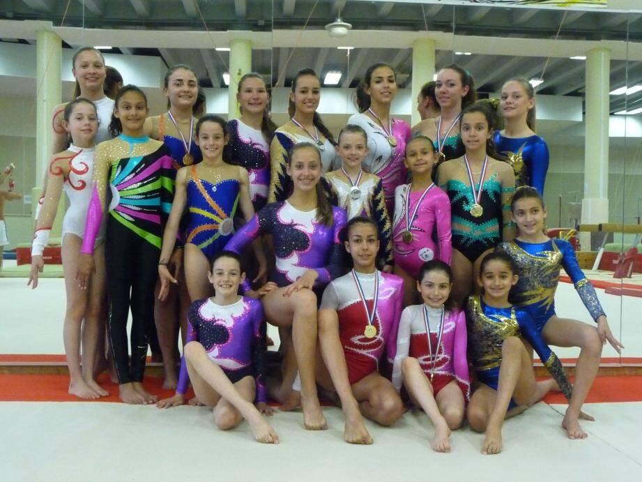 Les gymnastes du Femina sport ont terminé leur saison en apothéose.