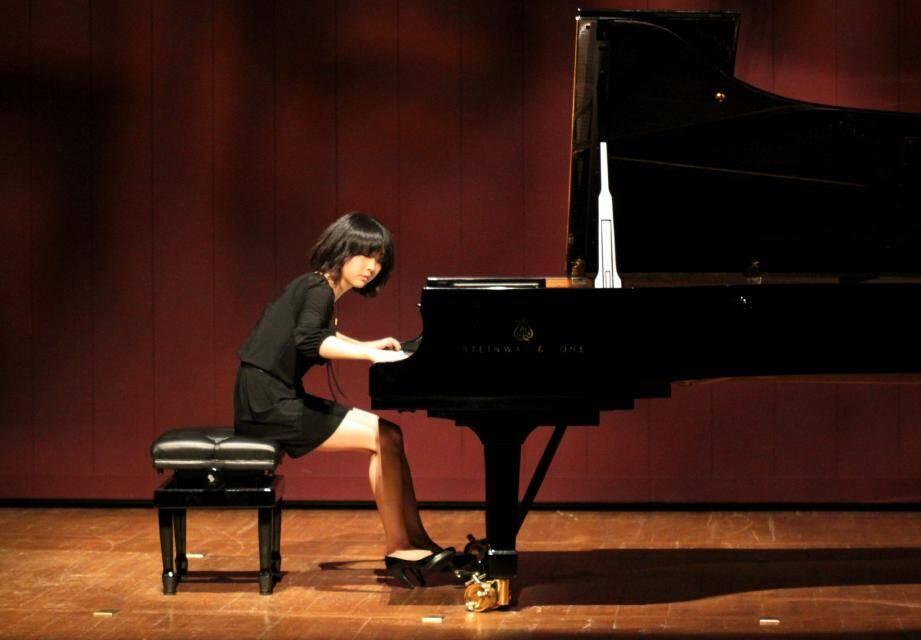 L'Américaine Claire Huangci, 22 ans, benjamine du concours.