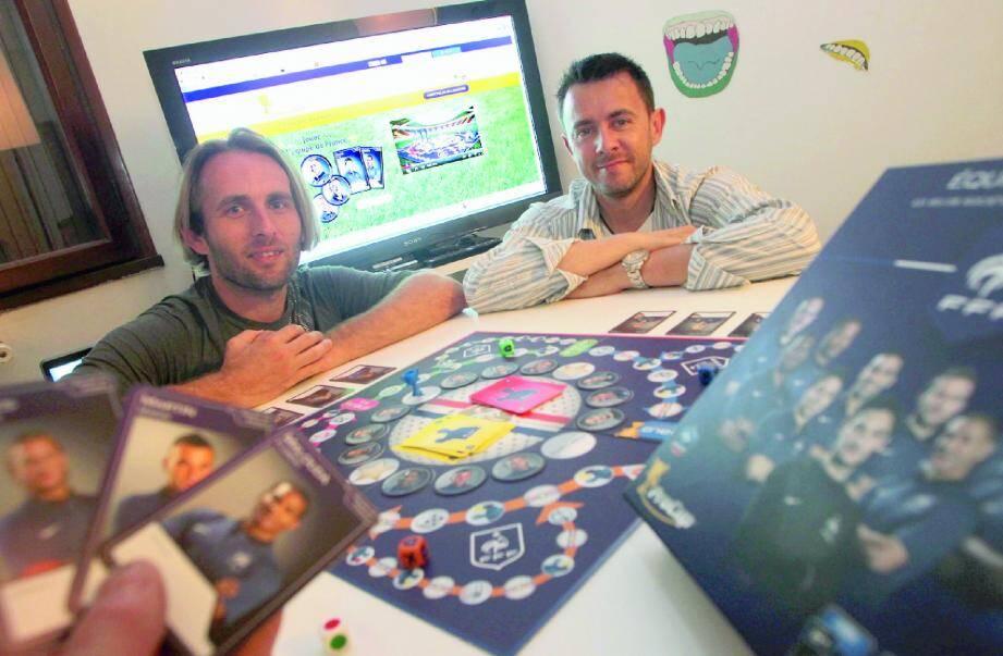 David Humbert, concepteur, et Sébastien Spiteri, chargé du développement du produit.