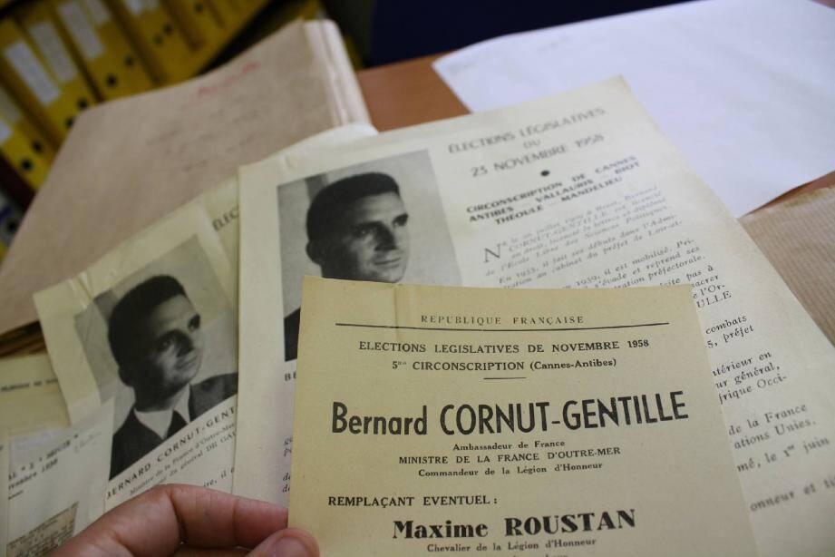 A compter de 1958, les Cannois élisent le député de la 5e circonscription, aujourd'hui devenue la 8e des Alpes-Maritimes.
