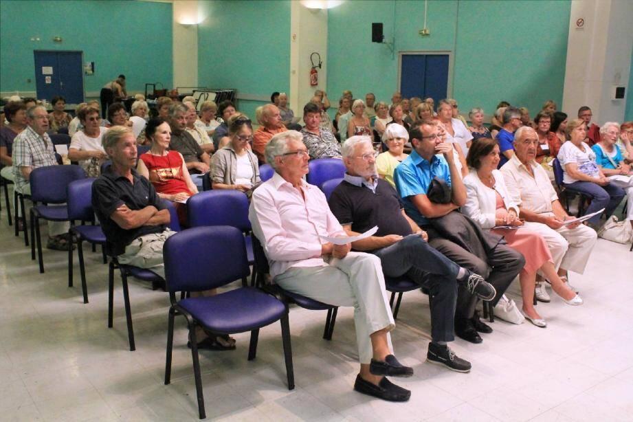Lors de l'assemblée générale de l'AVF, « activité incontournable », quatre-vingts membres étaient présents.