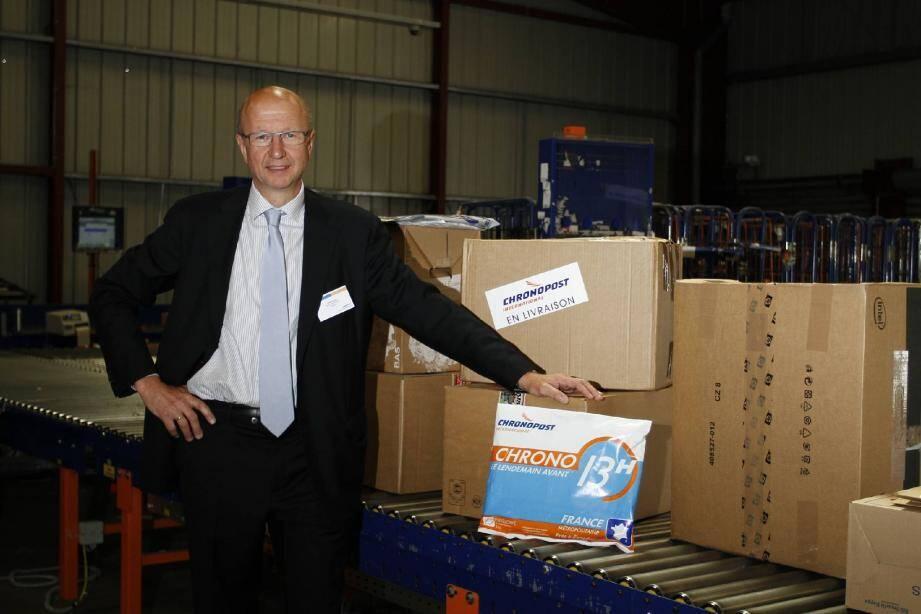 « Nous avons une carte à jouer dans le marché très concurrentiel de la livraison express » , assure Martin Piechowski, président de Chronopost.