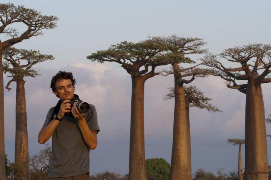 Nicolas Cegalerba possède une bonne dose de patience, qualité indispensable pour photographier les animaux sauvages.