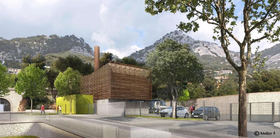 La chaufferie biomasse sera alimentée avec du bois en provenance de Signes.