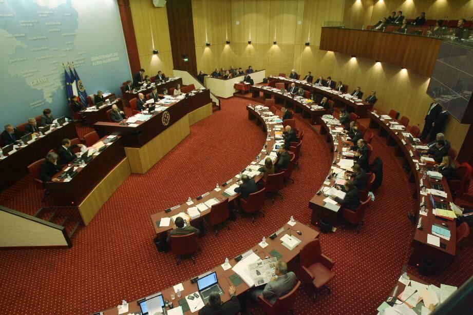 Le président du conseil général Eric Ciotti n'a pas caché, hier, sa « fierté » à l'heure de présenter le bilan 2011.
