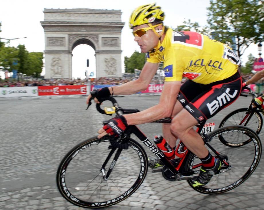 A l'image de Cadel Evans en 2011, beaucoup de chemin reste à parcourir avant l'arrivée sur les Champs-Elysée en juillet 2013.