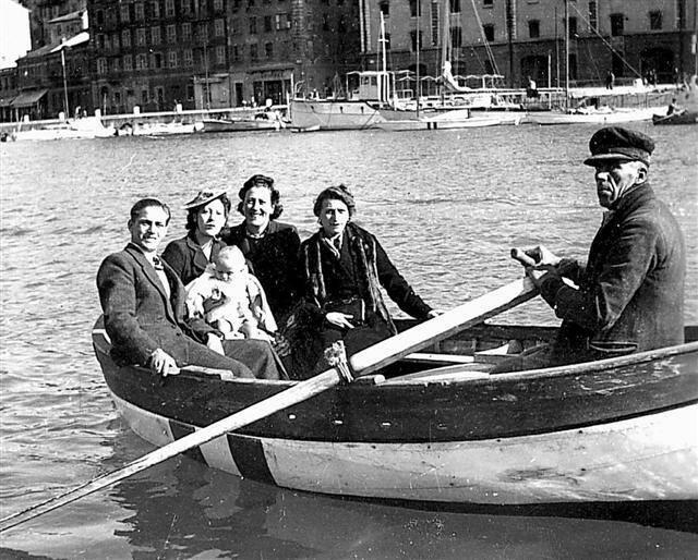 Le dernier passagin dans les années 1940-1950.