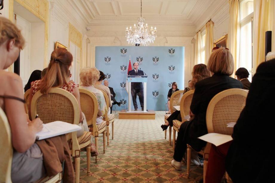 Hier, lors de la conférence du gouvernement, Marco Piccinini, conseiller de gouvernement pour les Finances et l'économie a dévoilé le traditionnel budget rectificatif.