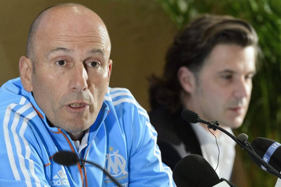 Pour Élie Baup, de retour à la manœuvre après une parenthèse de trois ans, la tâche ne s'annonce pas simple. « J'ai envie qu'on réussisse tous ensemble », martèle le nouvel entraîneur de l'OM.