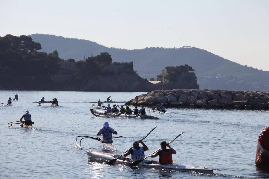 Le temps d'une matinée, les plages du Mourillon ont changé d'hémisphère. Mais à la fin, c'est un Toulonnais qui gagne...