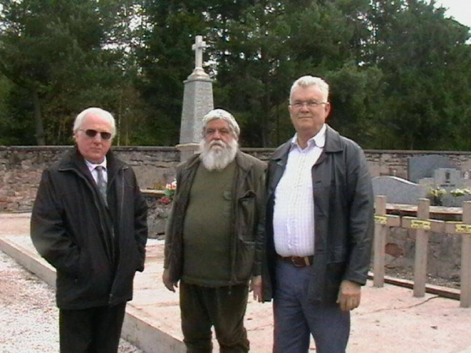 Jean-Louis Poli, Jacques Bourquin et Raymond Euvrard.