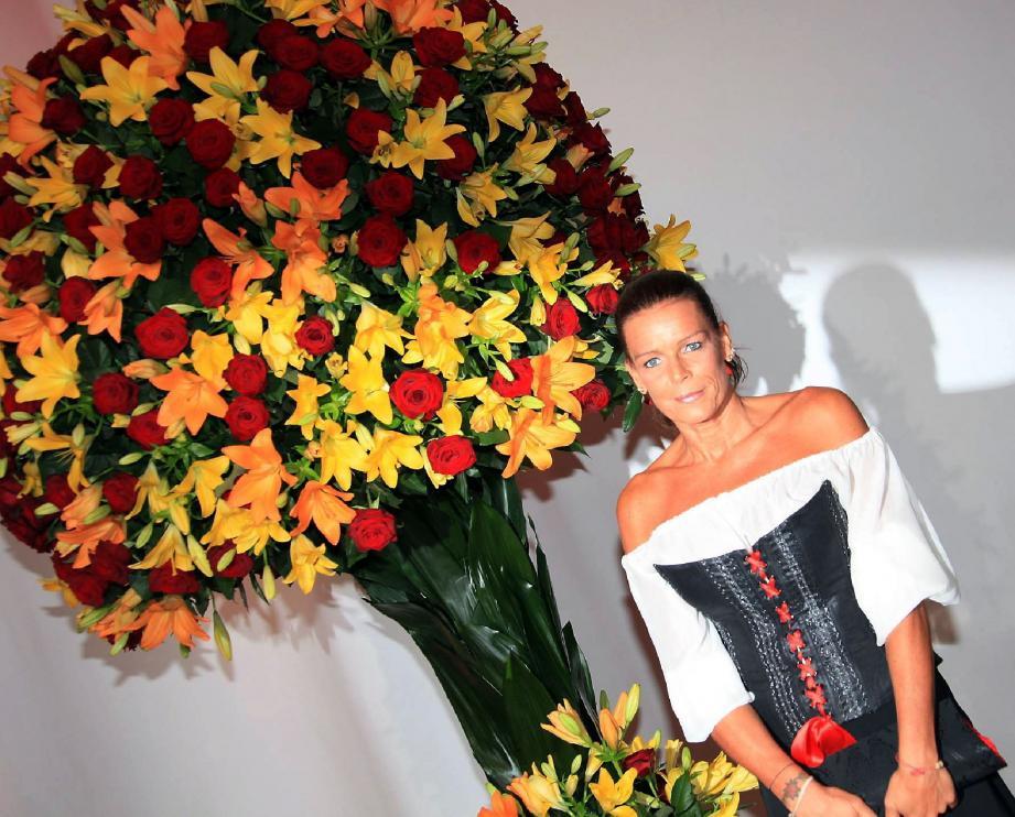 La princesse Stéphanie a accueilli hier soir, au Sporting Monte-Carlo, les artistes et convives venus participer au gala Aids evening 2012.