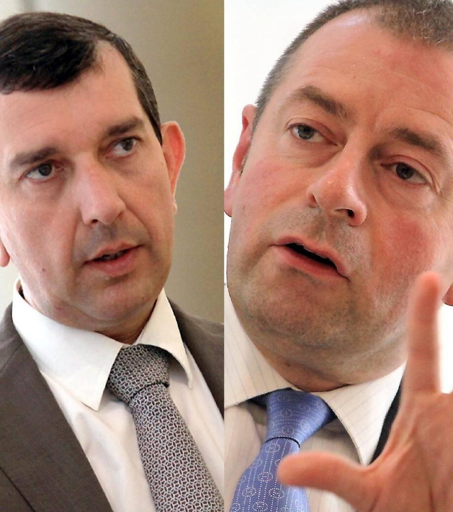 Jean-Charles Gardetto, vice-président de l'OSCE et Jean-François Robillon, président du Conseil National ont passé la semaine sur tous les fronts, entre débats, rencontres et accueil des invités.