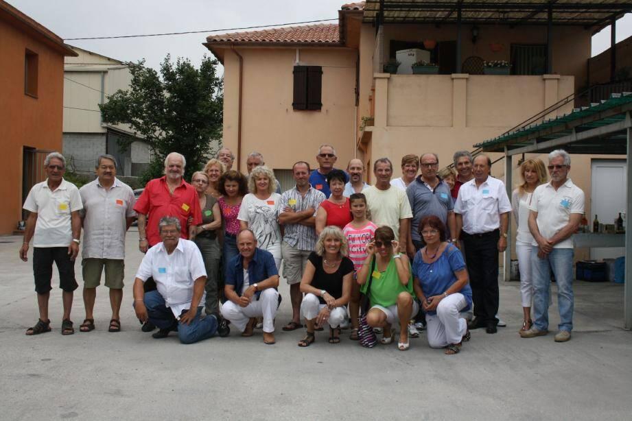 Quarante-cinq ans qu'ils ne s'étaient pas vus. Cette bande de copains issue de Nice-Nord s'est retrouvée le temps d'une journée festive au quartier de La Roseyre.