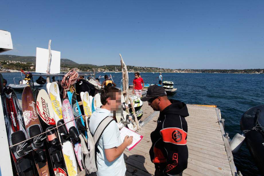 L'emploi dans le secteur des activités nautiques saisonnières a notamment été ciblé hier par les contrôleurs de l'Urssaf.