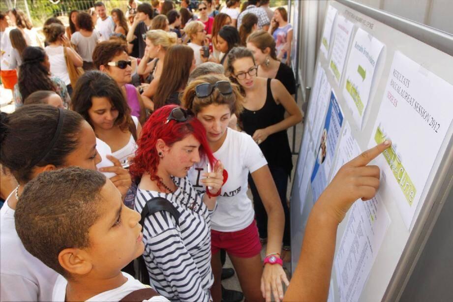 Dans l'académie de Nice, le taux de réussite au bac est, cette année, légèrement supérieur à la moyenne nationale.