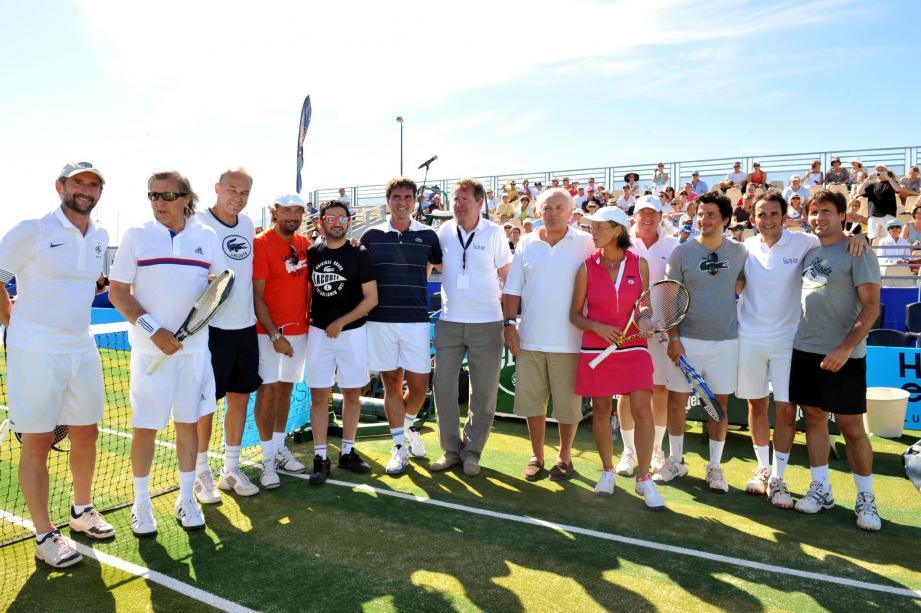 Le Classic Tennis Tour a réuni un plateau trois étoiles à Saint-Tropez. Mais la fête n'est pas finie. Elle se poursuit encore aujourd'hui.