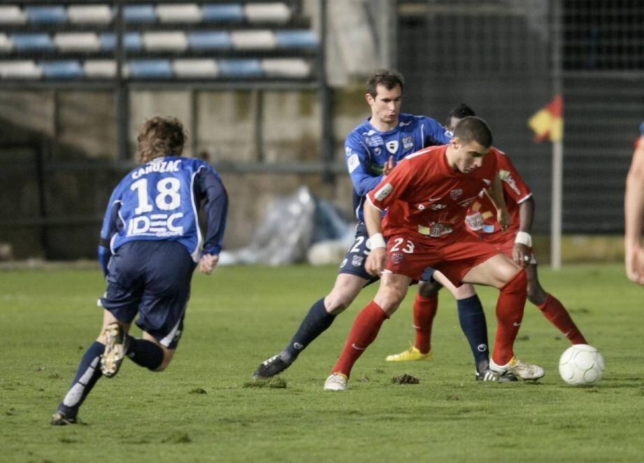 « Seba» Ribas, sous le maillot de Dijon, a inscrit 48 buts en 106 apparitions de 2008 à 2011.