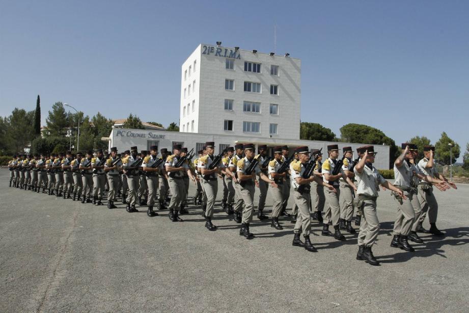 C'est un régiment de près de mille marsouins que commande désormais le toulousain d'origine Paul Gèze.