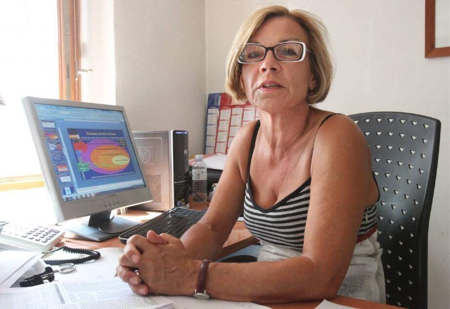 Le Dr Brigitte Reboulot, responsable du centre régional d'information et de prévention du sida tire la sonnette d'alarme sur la flambée des contaminations chez les homosexuels hommes.