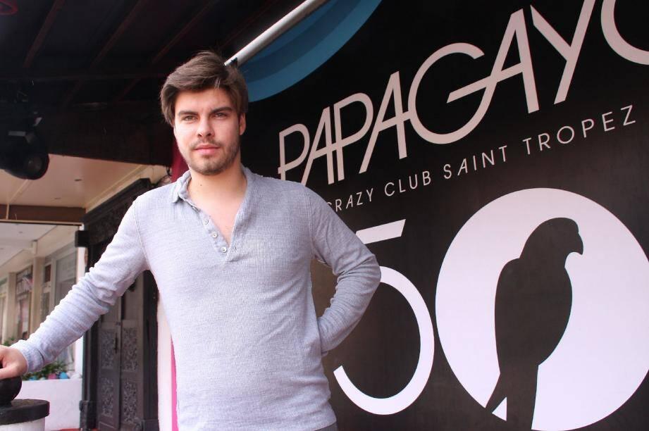 Aujourd'hui directeur artistique, Franklin Malortigue veut donner une nouvelle impulsion au Papagayo.
