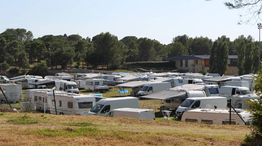 Le stade de la Bouverie devrait en principe accueillir, ce week-end, le festival western.