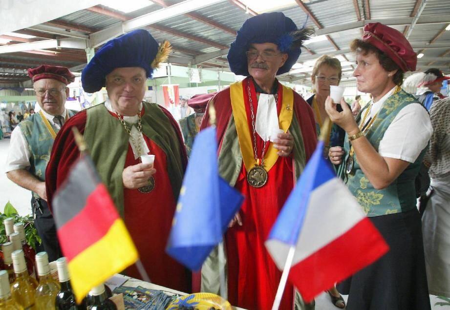 Alors que chacune des cinq villes jumelles organise ces festivités à son tour, c'est en 2007 que Brignoles a reçu pour la dernière fois ses hôtes européens.