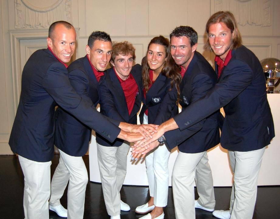 Les six athlètes monégasques en lice lors de ces Jeux de Londres ont porté avec fierté les couleurs de la Principauté.
