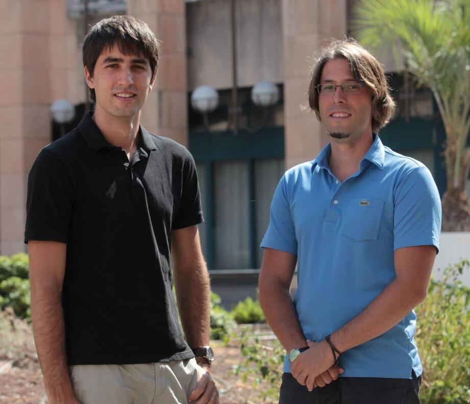 « Dans ce secteur qui évolue rapidement, il ne faut pas rester sur ses acquis », insiste Baptiste Costa (à gauche).