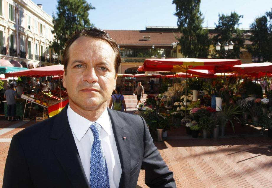 Georges Marsan, maire de Monaco.