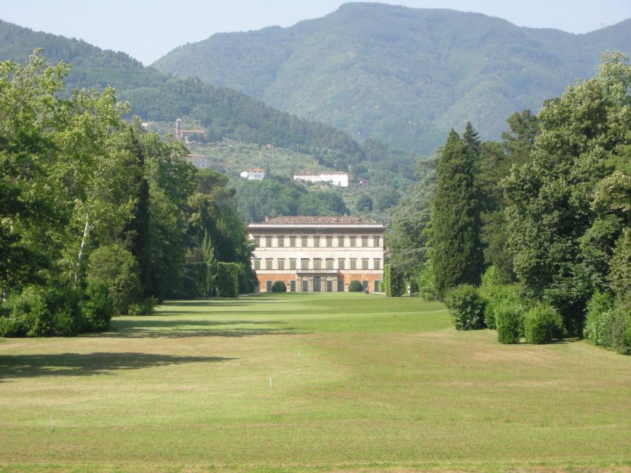 La villa Reale de Marlia, un des théâtres de cette union de prestige annoncée à Lucca (Toscane).(DR)
