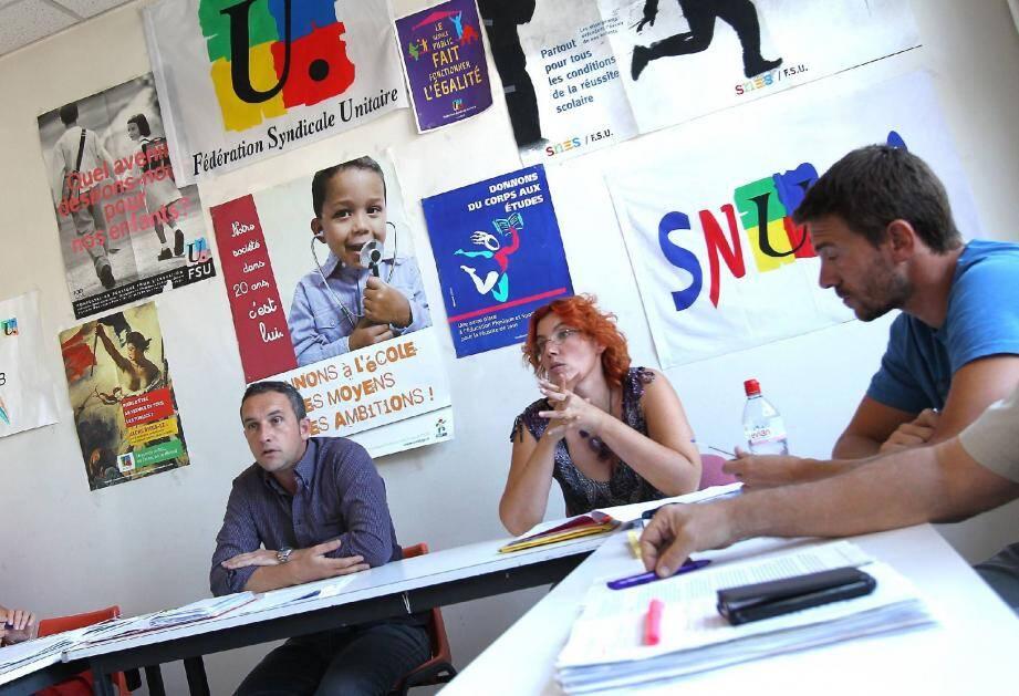 Les responsables des différents syndicats d'éducation affiliés à la FSU ont fait part hier de leurs inquiétudes concernant la rentrée scolaire.