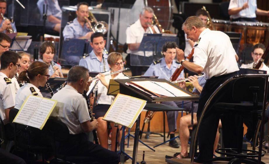 Le commandant Marc Sury a fait l'essentiel de sa carrière dans l'armée comme musicien.