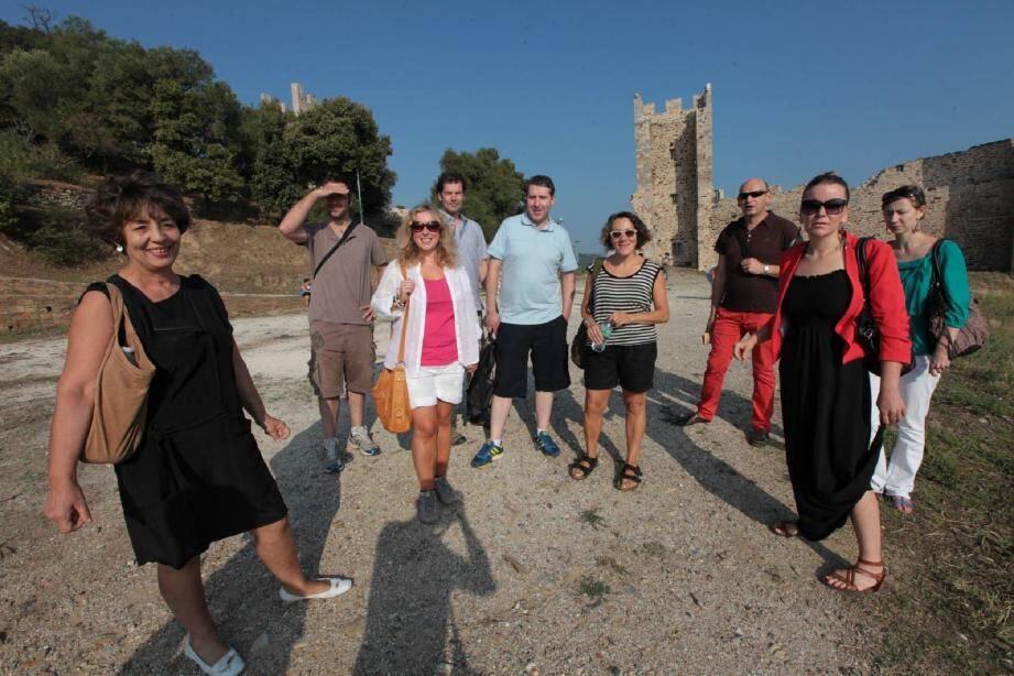 Récemment, l'office de tourisme a organisé une visite de la ville pour cinq journalistes anglais, par l'intermédiaire de l'agence départementale de tourisme.