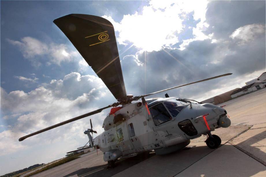 La 31F réactivée sera armée par trois Caïmans, des hélicoptères NH90 Marine neufs, lourds et modernes.