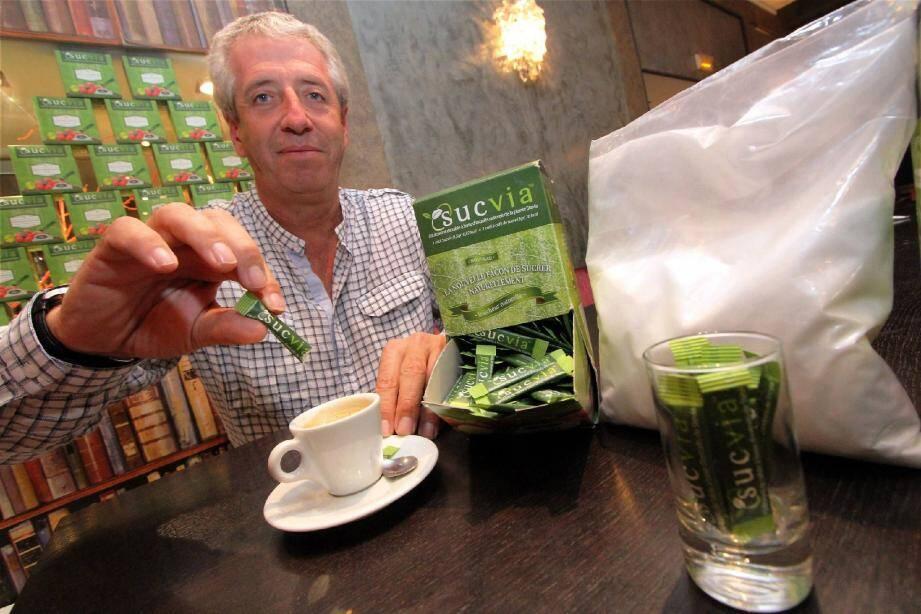 Frédéric Blanc a lancé Sucvia, un édulcorant naturel zéro calorie sur le marché français… avant d'attaquer l'Europe.