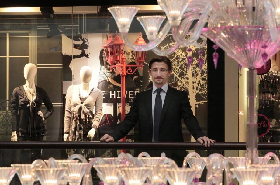 Sébastien Mercier, nouveau directeur de Nice Etoile, décidé à varier l'offre commerciale.