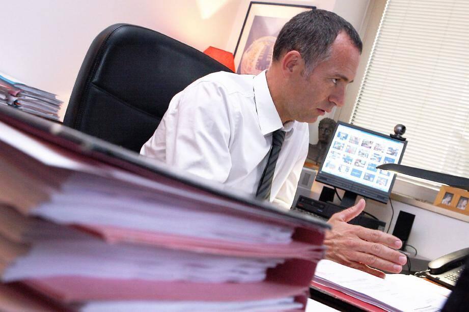 Christophe Haget, patron de la PJ monégasque.