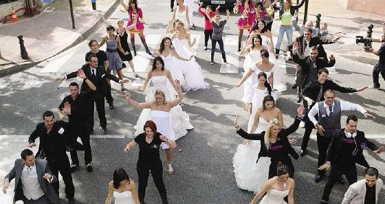 mariageflashmob
