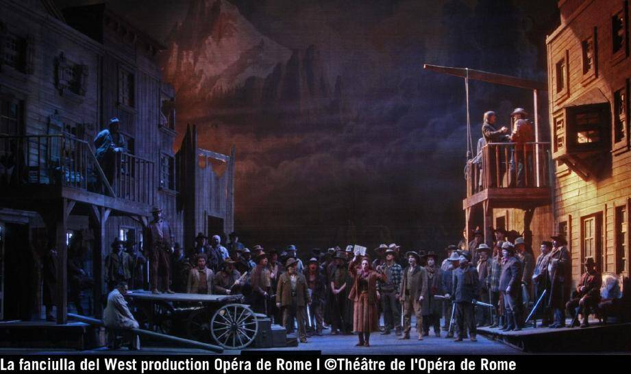 La « Fanciulla del West » qui sera le spectacle de la Fête nationale.	(DR)