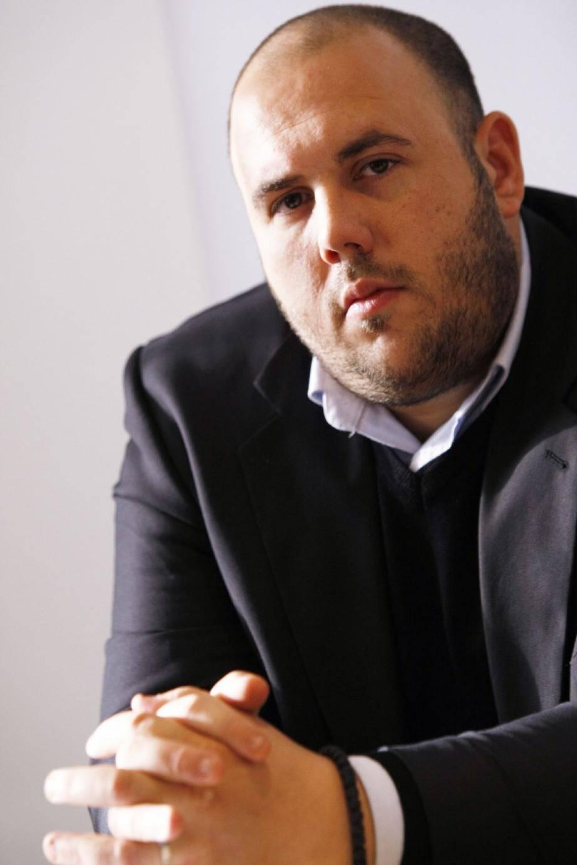 Sébastien Bonnier (FNJ) affirme avoir été agressé par Philippe Vardon (Nissa Rebela) (ci-dessus) lors de la campagne cantonale de 2011.