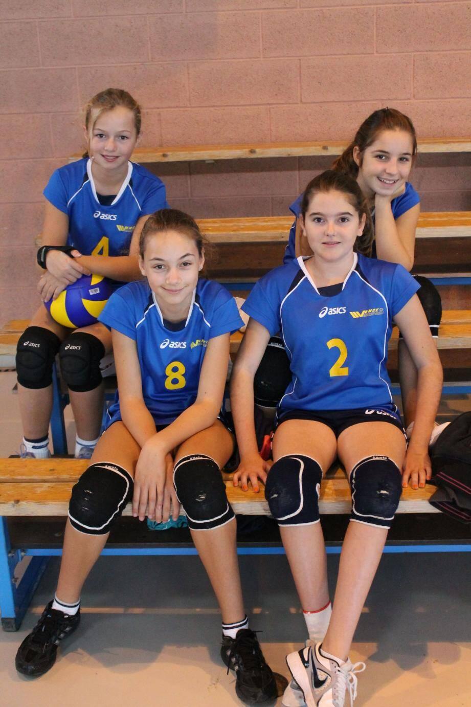 Maurane Liebeart, Lucie Decobecq, Chloé Baracco, et Aurore Friteau : quatre Vençoises prêtes à relever le défi.