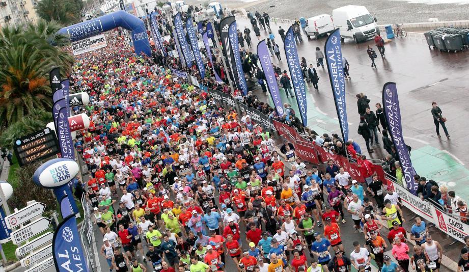 Retrouvez tous les classements du marathon Nice-Cannes 2012.