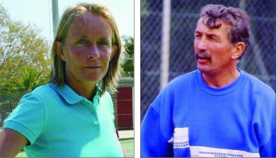 L'ancien entraîneur de tennis, Régis de Camaret (ci-dessus en 1988 au centre d'entraînement des Marres à Saint-Tropez) est jugé pour viol sur mineures à partir de jeudi devant la cour d'assises de Lyon. L'affaire était partie d'un dépôt de plainte déposée par Isabelle Demongeot en 2005.